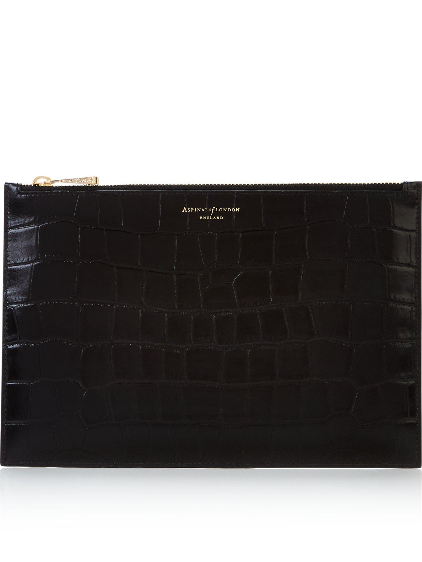 New Aspinal Of London Essential Pouch Pink Leather Wallet Purse Only £45,90!!!