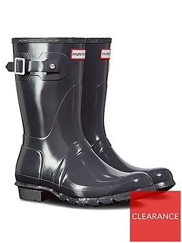 hunter-original-short-gloss-wellington-boot-slate