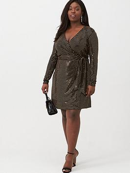 v-by-very-curve-glitter-wrap-dress-metallic
