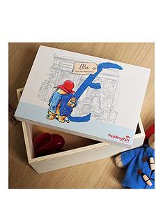 paddington-bear-personalised-initial-memory-box