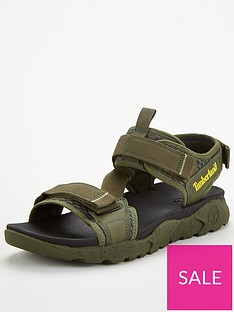 timberland-ripcord-2-strap-sandals-green