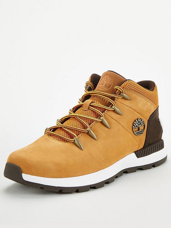 Alinear Instantáneamente Cubeta  Timberland Sprint Trekker Mid Boots - Brown | very.co.uk