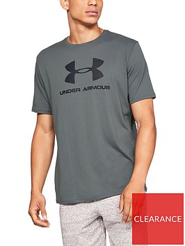 under-armour-sportstyle-logo-t-shirt-grey