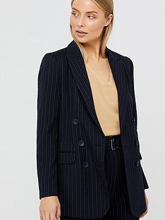 monsoon-paige-pin-stripe-jacket-navy