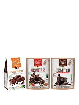 loveraw-vegan-chocolate-collection-truffles-and-belgian-thins