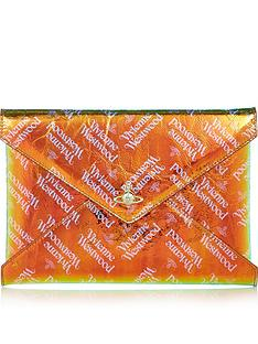 vivienne-westwood-bella-archive-orb-pouch-orange