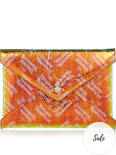 vivienne-westwood-bella-archive-orb-pouch-orange