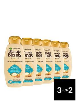 garnier-garnier-ultimate-blends-honey-strengthening-shampoo-360ml-pack-of-6