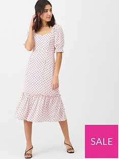warehouse-spot-prairie-midi-dress-pale-pink