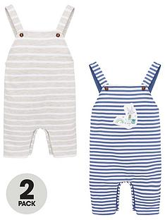 v-by-very-baby-boys-2-pack-striped-dungareesnbsp--multi