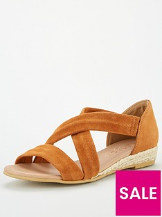 office-hallie-wedge-sandals-tan-gold
