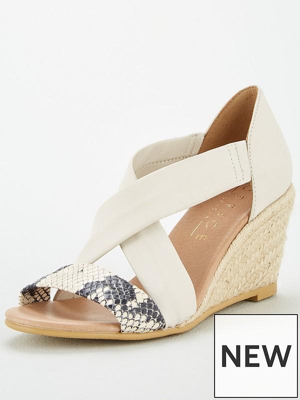 off white dress sandals