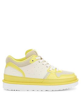 ugg-highland-trainer-yellowwhitenbsp