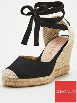 office-marmalade-wedge-sandal-black