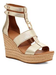ugg-kolfax-wedge-sandals-gold