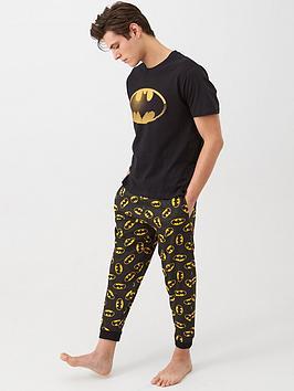 batman-batman-pyjama-set-black