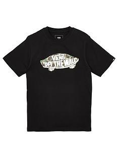 vans-childrensnbspoff-the-wall-logo-fill-short-sleevenbspt-shirt-black