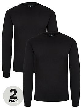 v-by-very-two-pack-of-long-sleeved-t-shirts-black