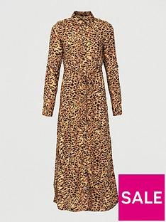 v-by-very-woven-button-through-shirt-midinbspdress-print