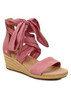 ugg-trina-wedge-sandals-pink