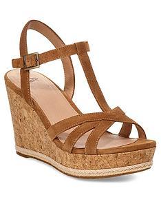 ugg-melissa-wedge-sandals-chestnut