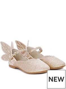 sophia-webster-junior-girls-chiara-glitter-shoes-gold