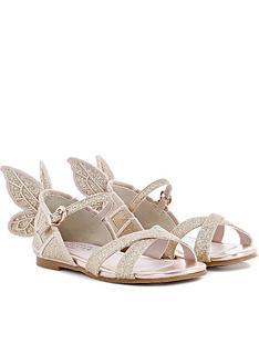 sophia-webster-junior-girls-glitter-sandals-gold
