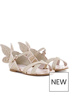 sophia-webster-junior-girls-glitter-sandals-gold