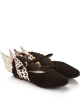 sophia-webster-junior-girls-evangeline-core-shoes-black
