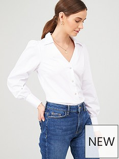 v-by-very-staple-cotton-white-shirt