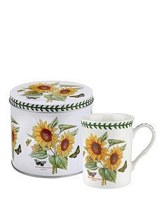 portmeirion-botanic-garden-sunflower-mug-tin-set
