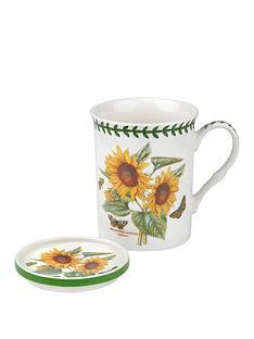 portmeirion-botanic-garden-sunflower-mug-coaster-set