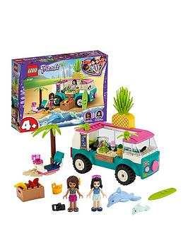 Lego Friends 41397 Juice Truck With Emma Mini Doll And Beach Scene Best Price, Cheapest Prices