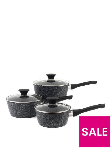 salter-megastone-3-piece-saucepan-set