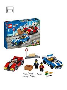LEGO City 60242 Police Highway Arrest with 2 Car Toys Best Price, Cheapest Prices