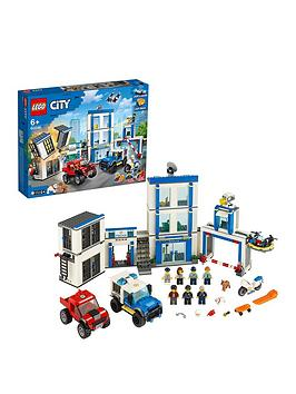 Lego City 60246 Police Station Building Light &Amp; Sound Bricks