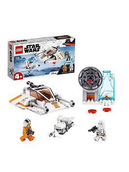 Lego Star Wars 75268 4+ Snowspeeder, Defence Station And Speeder Bike