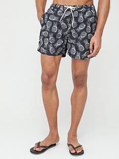 selected-homme-classic-swim-shorts-black