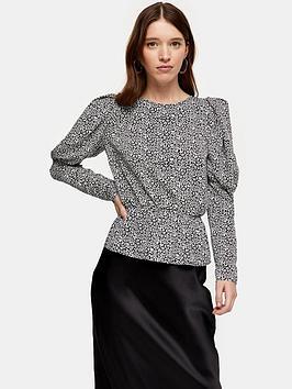topshop-drama-sleeve-blouse-mono