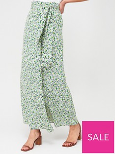 v-by-very-tie-side-maxi-skirt-green-floral