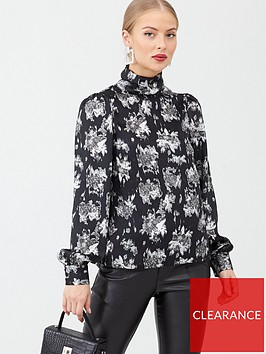 v-by-very-high-neck-printed-blouse-floral
