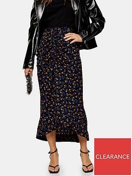topshop-petite-floral-trumpet-midi-skirt-indigo