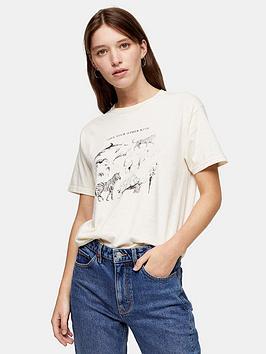 topshop-organic-love-your-other-kind-t-shirt-ecru
