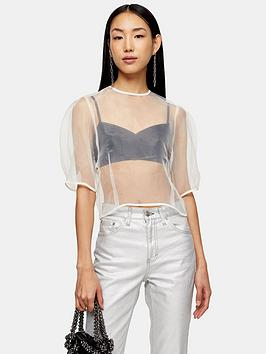 topshop-organza-cocoon-blouse-ivory