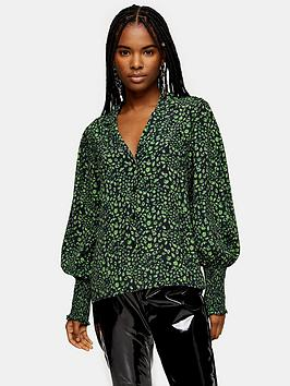 topshop-fan-shirt-green