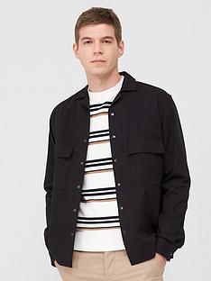 selected-homme-luke-shirt-jacket-black
