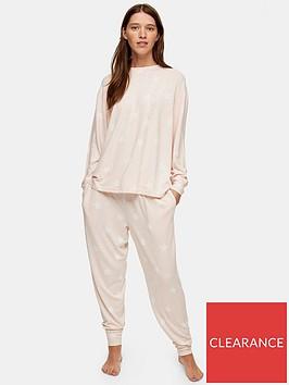 topshop-star-print-super-soft-pyjama-joggers-pink