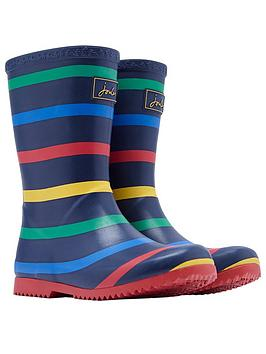 joules-boys-stripe-roll-up-wellington-boots-navy