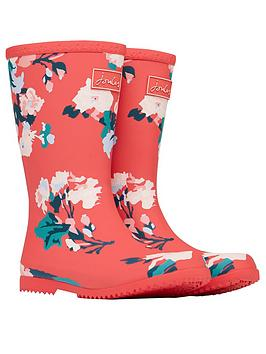 joules-girls-floral-roll-up-wellington-boot--red