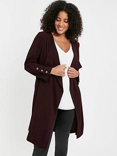 evans-longline-waterfall-jacket-purple